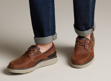 Screenshot 2019 04 05 Un Abode Step Dark Tan Leather Mens Unstructured Shoes Clarks® Shoes Official Site Clarks 1