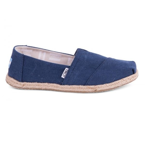 toms classic navy washed rope sole 10009758 ss18 1