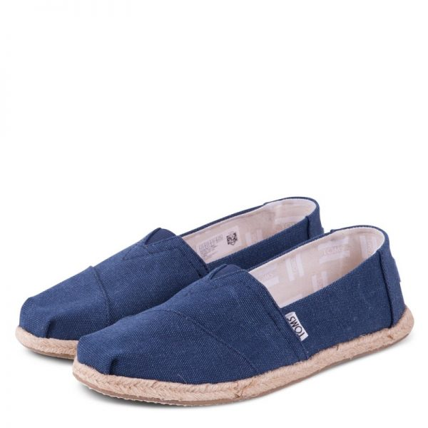 toms classic navy washed rope sole 10009758 ss18 4