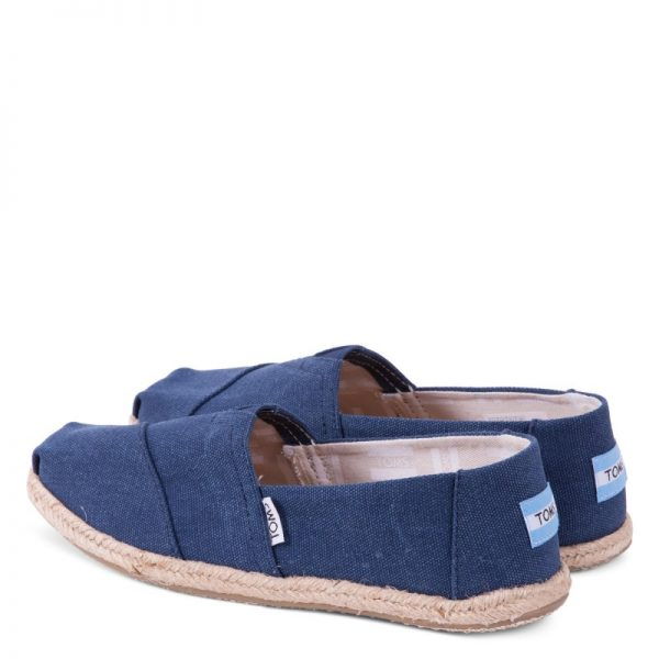 toms classic navy washed rope sole 10009758 ss18 5