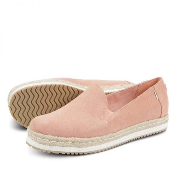 toms palma coral pink suede 10013375 2
