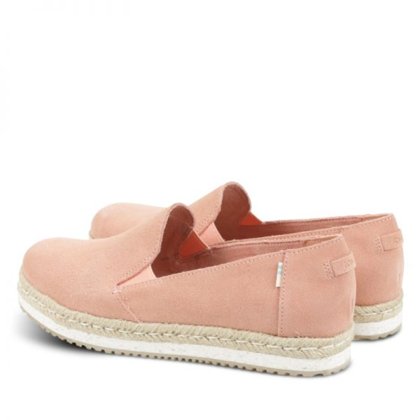 toms palma coral pink suede 10013375 3