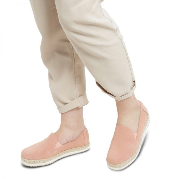 toms palma coral pink suede 10013375 4