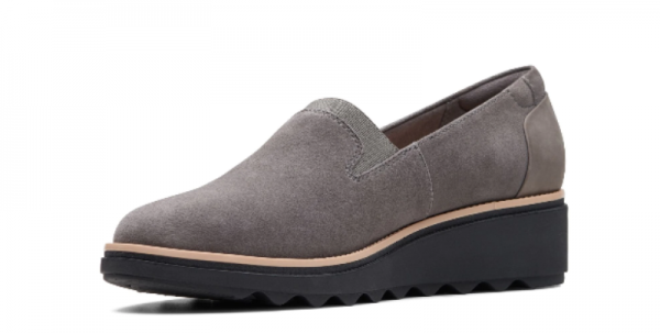 Screenshot 2019 10 10 Sharon Dolly Grey Suede Womens Shoes Clarks® Shoes Official Site Clarks 2