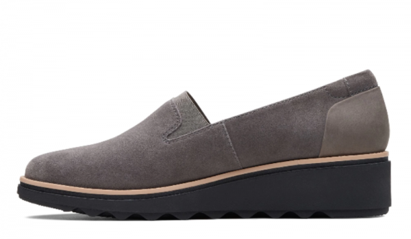 Screenshot 2019 10 10 Sharon Dolly Grey Suede Womens Shoes Clarks® Shoes Official Site Clarks 3