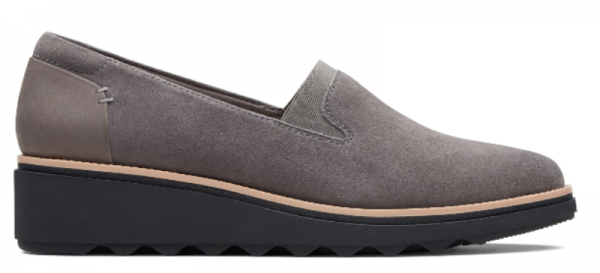 Screenshot 2019 10 10 Sharon Dolly Grey Suede Womens Shoes Clarks® Shoes Official Site Clarks