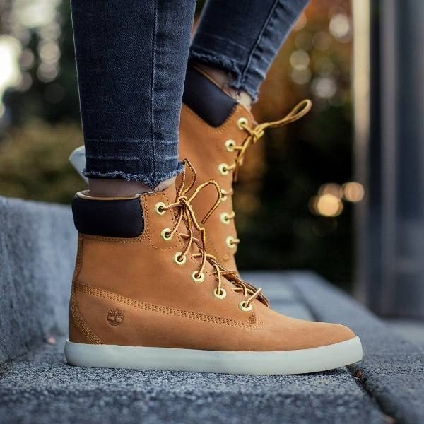 timberland flannery 6in damen casual gelb a1b3i 2