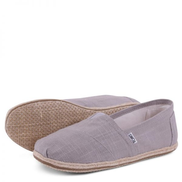 toms classic grey linen rope sole 10008381 4