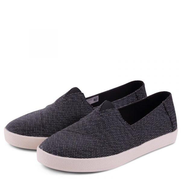 toms shoes avalon black grey yarn dye 10009978 1