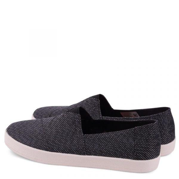 toms shoes avalon black grey yarn dye 10009978 2