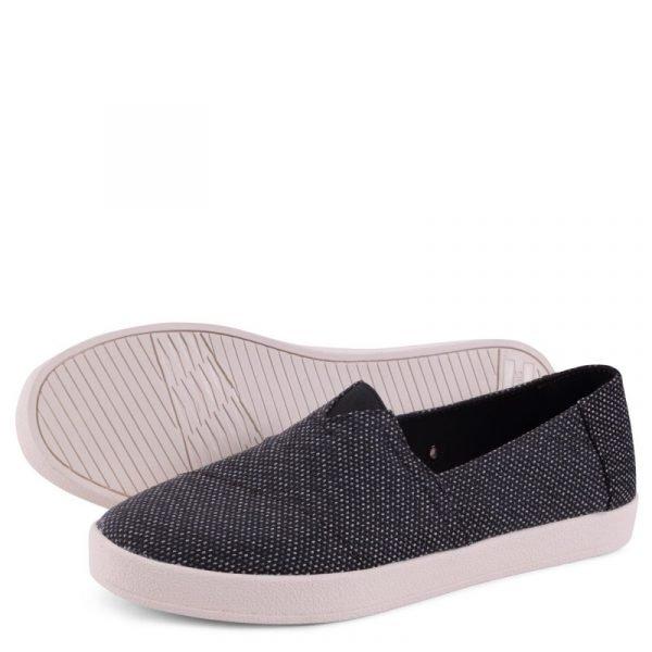 toms shoes avalon black grey yarn dye 10009978 3