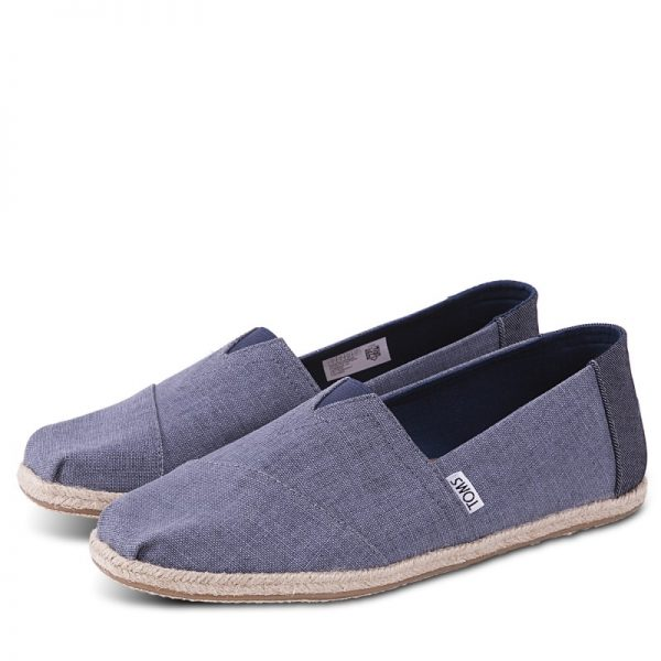 toms shoes classic deep ocean coated linen rope sole 10009899 1