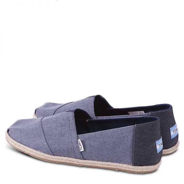toms shoes classic deep ocean coated linen rope sole 10009899 2