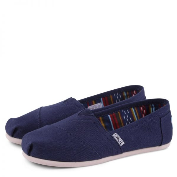toms shoes classic navy canvas 10000866 1