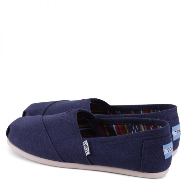 toms shoes classic navy canvas 10000866 2