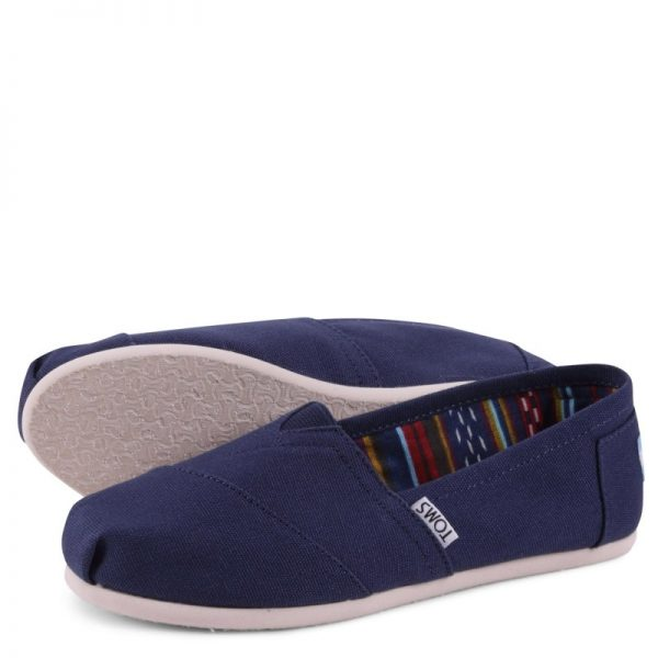 toms shoes classic navy canvas 10000866 3