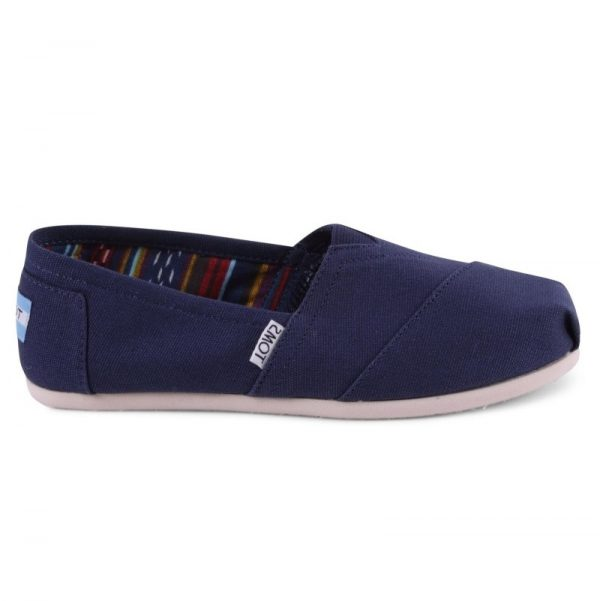 toms shoes classic navy canvas 10000866