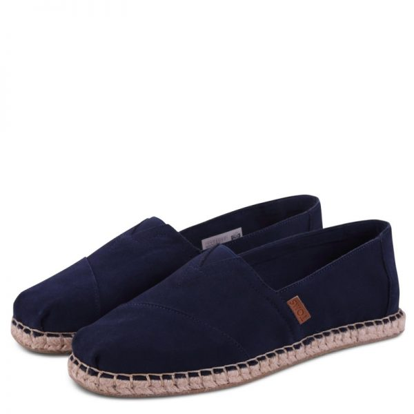 toms shoes classic navy suede blanket stitch 10009964 1