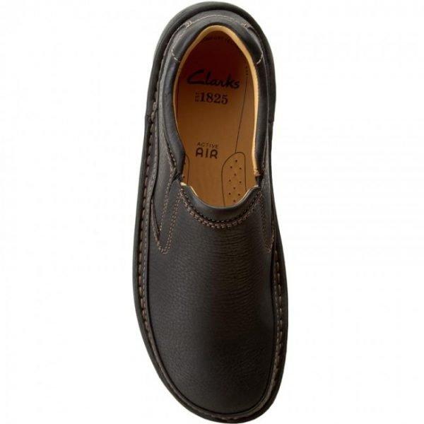 0000199159893 clarks nature easy black leather pl 06