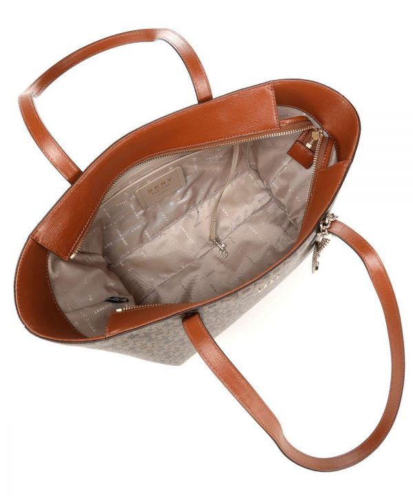 dkny bryant tote bag caramel r74aj014 d3e 35