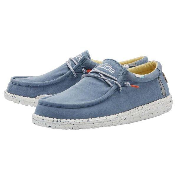111522134 WALLY WASHED BLUE STONE YELLOW