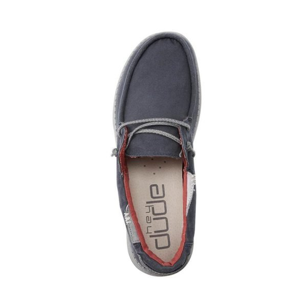 112222535 WELSH WASHED NAVY