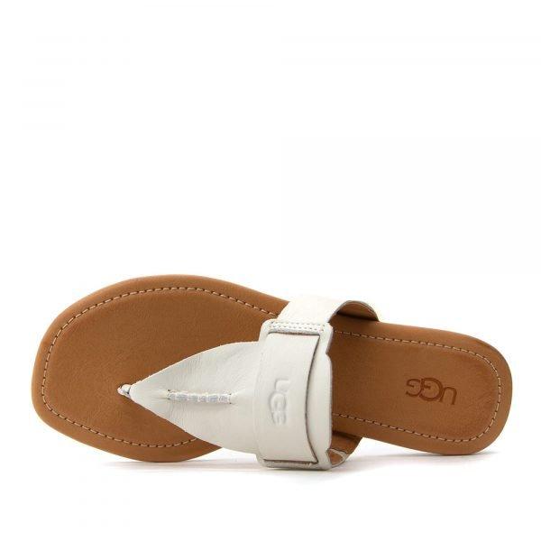 1120040 jlth ugg women sandals white 5