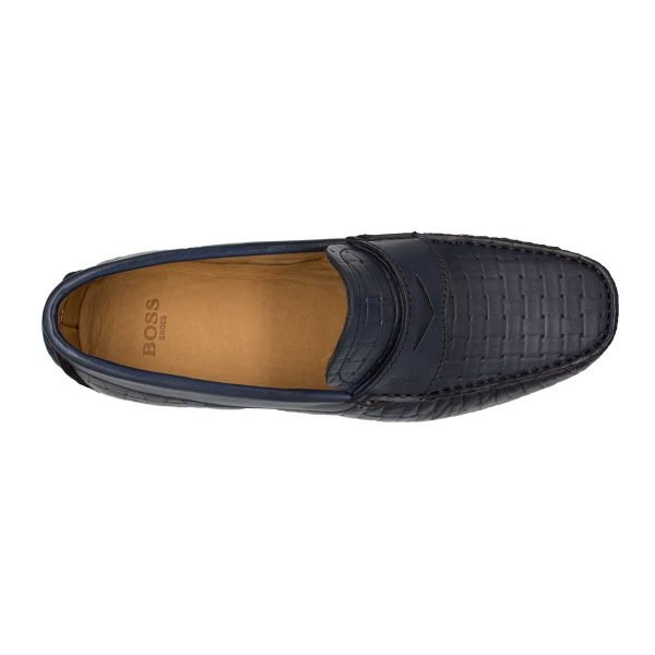 Boss Shoes q5784 blue 4